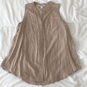 Tunic Length Sleeveless Top